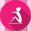 Icon to represent thyroid health