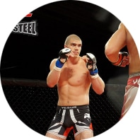 Ben Lister, Mixed Martial Artist