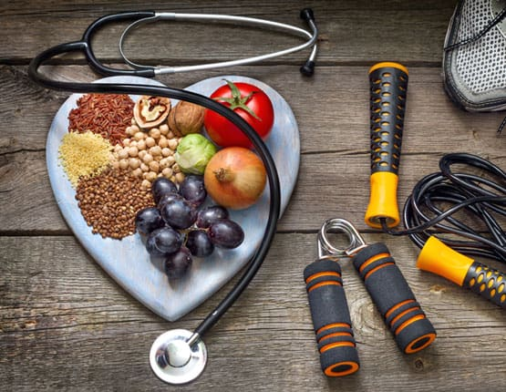 Image showing food that is good for your heart
