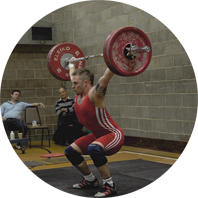 Sean Glover, Former National Champion Weightlifter 85kg class